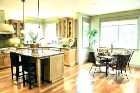 Kitchen And Dining Room Colors Paint For Living Combo Open Concept