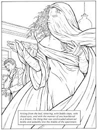 Great Scenes From Horror Stories Dover Classic Coloring Book