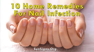 10 easy home remedies for nail infection sun signs