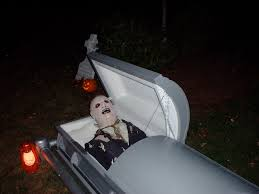 Halloween Coffin Prop by Halloween Remote Controlled Casket 5 Steps With Pictures
