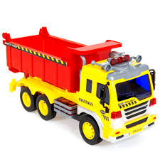 100 Kids Dump Trucks Best Choice Products 116 Scale PushandGo Friction Powered Garbage Truck Toy W Lights And Sounds