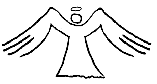 Pin Wings Clipart Coloring Page 1
