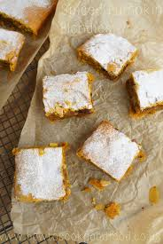 Libbys Pumpkin Puree Tesco by Spiced Pumpkin Blondies By How To Cook Good Food