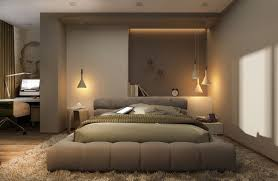 Romantic Bedroom Decoration And Interior Lighting
