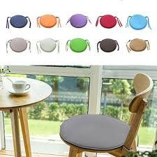 runde garten stuhlkissen sitzkissen für outdoor bistro