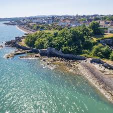 98 Pinterest Coastal Homes Blackrock Semi With Private Beach Jetty And Temple Ruin For 1495m