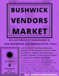 Bushwick Vendors Market -- Silent Barn Scolhouse Screaming Females At The Silent Barn March 6 Walter Cristy Road Shira Mallrat Record Release April Mei Best Nyc Radio Stations Running Out Of Galleries And Diy Spaces Puerto Rico Fundraiser Ava Mendoza Brandon Lopez Spic Brooklyn Utopia One Structure To Sustain You Selena Lives On And More Art Openings Bushwick Project For The Arts Pinact Living Hour Tickets Ny Skin In City A New Game Medium