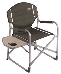 Lightweight Aluminum Directors Chair by Northwest Territory Ac3052 Director S Chair With Fold Up Side