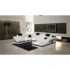 canape cuir angle design canapé d angle design panoramique en cuir toronto pop design fr
