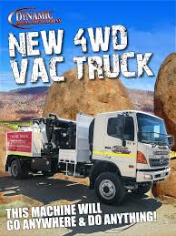 New 4x4 Vacuum Truck | Dynamic Hydro Excavations
