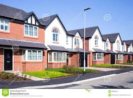 100 Modern Houses Images New Build Houses UK Stock Photo Image Of House Terraced 89064672