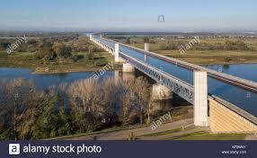 100 Magdeburg Water Bridge Aerial View Of Largest Navigable