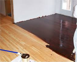 staining wood floors before and after before after no one else