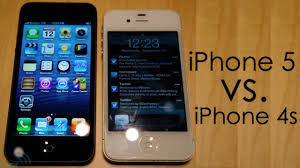 iPhone 5 vs iPhone 4s Features Design Specifications Details