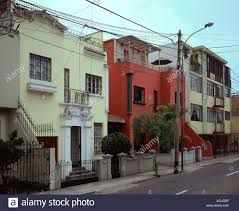 100 Houses For Sale In Lima Peru Typical Traditional Middle Class Housing In The Suburb Of