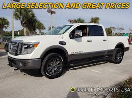 100 Nissan Diesel Pickup Truck Used 2017 Titan XD Crew Platinum 4WD For Sale In
