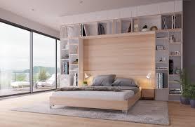 mehr stauraum im schlafzimmer mit einem bettüberbau der