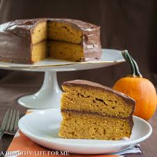 Healthy Chocolate Pumpkin Desserts by Pumpkin Cake Cook Diary