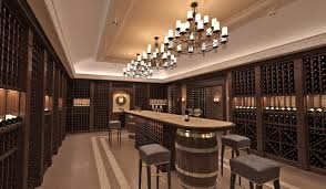 100 Wine Room Lighting INDESIGNCLUB The Interior Design Of A Wine Cellar In The