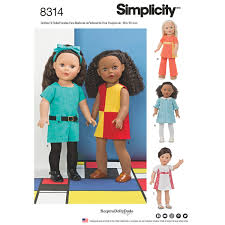 Simplicity 1136 Everyday Clothes For 18