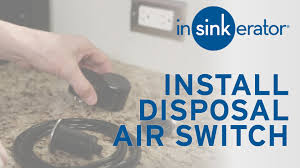 Insinkerator Sink Top Switch Manual by How To Install Garbage Disposal Air Switch