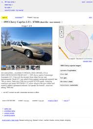 100 Sf Craigslist Cars And Trucks At 7000 Could This 1995 Chevy Caprice Wagon Mean Your Ship Has