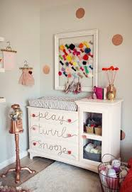 Whimsy Pink Glittery Gold And Grey Teen Bedroom Design Inspiration