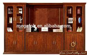 Wooden Furniture File Cabinet Design In Book Shelf Side FOHS