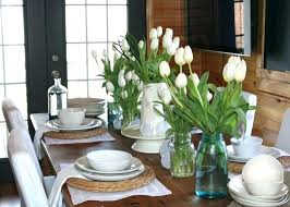 simple dining table decorating ideas pictures room centerpiece for
