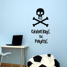 sticker chambre sticker chambre de pirate stickers citation texte opensticker