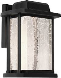 artcraft ac9122bk led outdoor wall sconce lighting