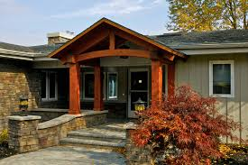 Columns On Front Porch by How To Build Front Porch Columns Using Wooden Material