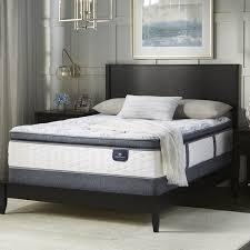 Serta Perfect Sleeper Air Mattress With Headboard by Serta Perfect Sleeper Wayburn Super Pillow Top Queen Size Mattress