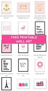Lots Of Free Printable Wall Art From Chicfetti