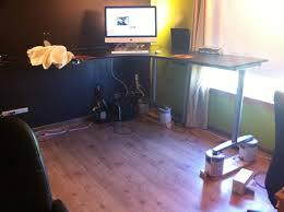 Diy Standing Desk Riser by Desk Riser Blocks Best Home Furniture Design
