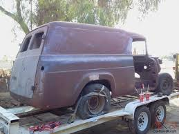 100 1959 Ford Panel Truck FORD F100 F1 PANEL TRUCK VAN COMPLETE SOLID CALIFORNIA BODY 9