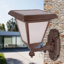 bright modern wireless 12 inches height solar outdoor led