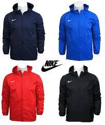 boys junior nike zip rain jacket waterproof coat top hooded hoodie