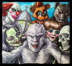 Halloween 1 Cast by Daily Napkins Cast Of Characters Who Could Be In