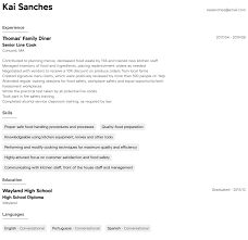 Cook Resume Samples | All Experience Levels | Resume.com ... Line Chef Rumes Arezumei Image Gallery Of Resume Breakfast Cook Samples Velvet Jobs Restaurant Cook Resume Sample Line Finite Although 91a4b1 3a Sample And Complete Guide B B20 Writing 12 Examples 20 Lead Full Free Download Rumeexamples And 25 Tips 14 Prep Ideas Printable 7 For Cooking Letter Setup Prep Sap Appeal Diwasher Music Example Teacher