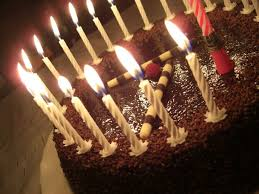Birthday Cake With Candles happy birthday chocolate images