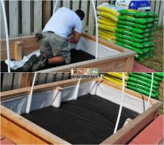 Raised Bed Soil Calculator by Grow Your Own Vegetables In A Raised Garden Bed The Outdoor Boys