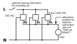 Ceiling Mounted Vacancy Sensor Wiring Diagram by Pir Occupancy Switches Danlers Lighting Controls U0026 Hvac Controls