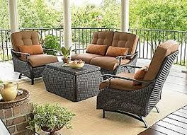 Wicker Patio Furniture Sears by Outdoor Patio Dining Sets Clearance