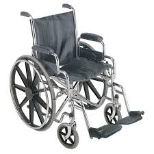 100 Rocking Chair Wheelchair DMI Silver FoldUpEasy Storage At Lowescom