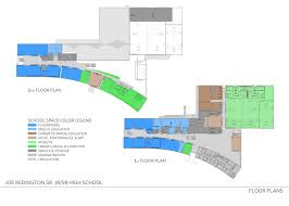 Efficiency Floor Plans Colors Redington Jr Sr High U2014 Wolf Architecture Inc