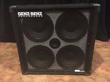 2x10 Bass Cabinet 8 Ohm by Genz Benz Bass Cabinet Ebay