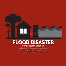 sac de inondation catastrophe d inondation avec la barrière de sac de
