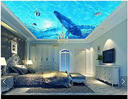mznm 3d tapete 3d tapete wandbild hängende decke dekoratives gemälde wandtapete 3d wohnzimmer 200 x 140 cm