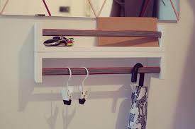 Ikea Mandal Headboard Hack by 15 Ikea Hacks For Small Entryways